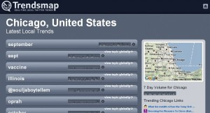 Trendsmap Chicago